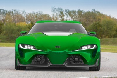 High res FT-1 Digital Colorizer - 150 Shades of 2016 TOYOTA SUPRA TURBO 6