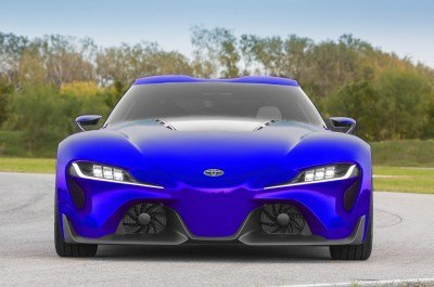High res FT-1 Digital Colorizer - 150 Shades of 2016 TOYOTA SUPRA TURBO 8