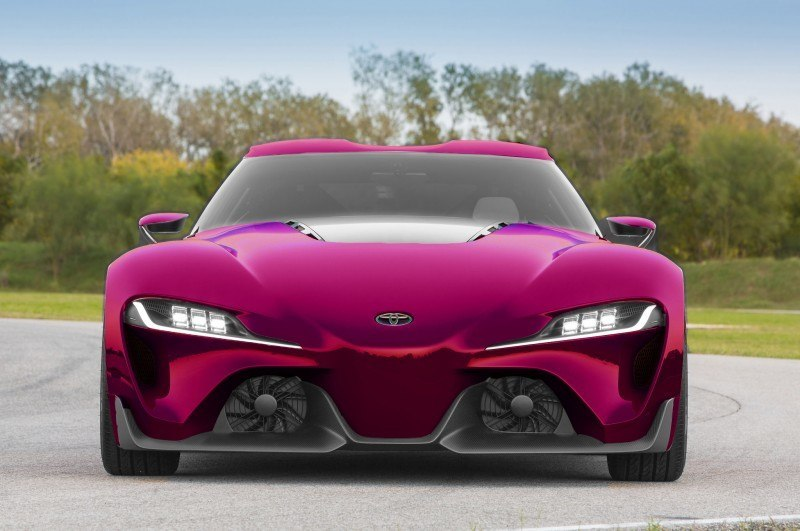 High res FT-1 Digital Colorizer - 150 Shades of 2016 TOYOTA SUPRA TURBO 9