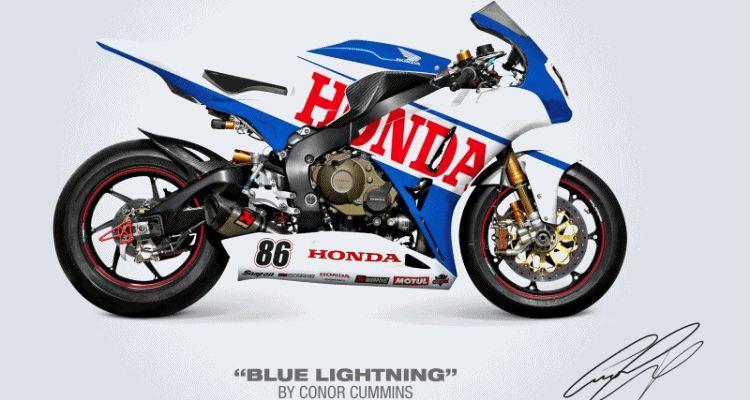 Honda Fireblade Racing gif