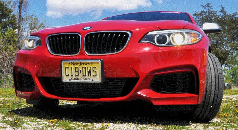 Hot Track Lap Review - 2014 BMW M235i Is Most Fun and Best-Sounding Junior Supercar EVER GIF2
