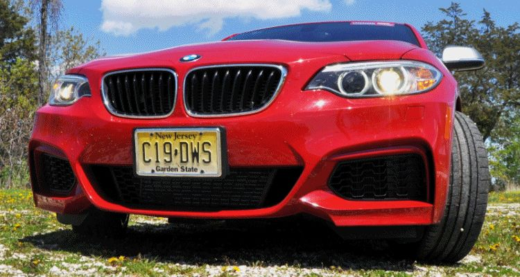 Hot Track Lap Review - 2014 BMW M235i Is Most Fun and Best-Sounding Junior Supercar EVER GIF6