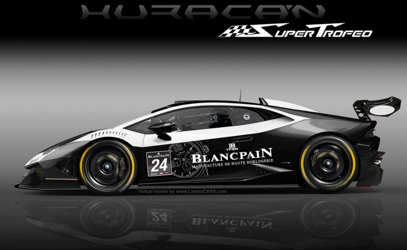 lamborghini huracan super trofeo for blancpain gt3 2015 in new class above ga. Black Bedroom Furniture Sets. Home Design Ideas