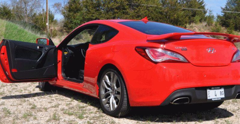 Hyundai Genesis Coupe GIF5