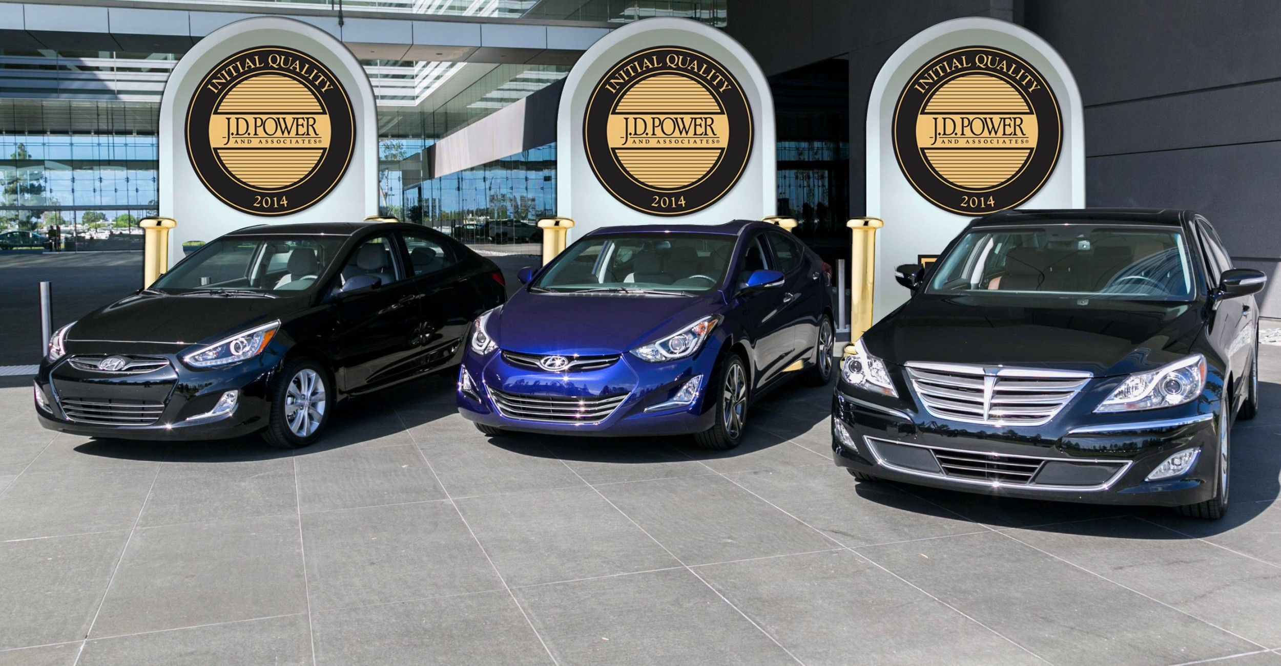 In Addition To Victories Three Vehicle Segments The Hyundai Brand Substantially Reduced Problems Per 100 Vehicles And Finished Fourth Overall