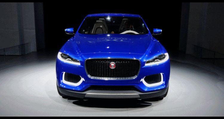 JAGUAR XQ-type debut blue spinner gif