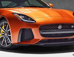 3.5s, 200MPH 2017 Jaguar F-TYPE SVR – 60 New Images, Tech Specs + Performance Mods