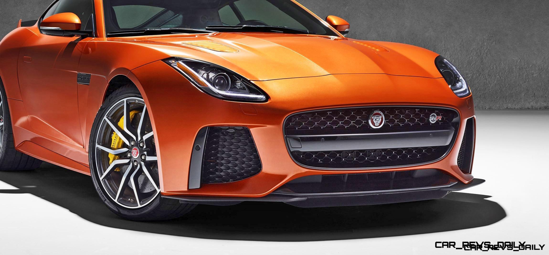 3 5s, 200MPH 2017 Jaguar F-TYPE SVR - 60 New Images, Tech Specs +