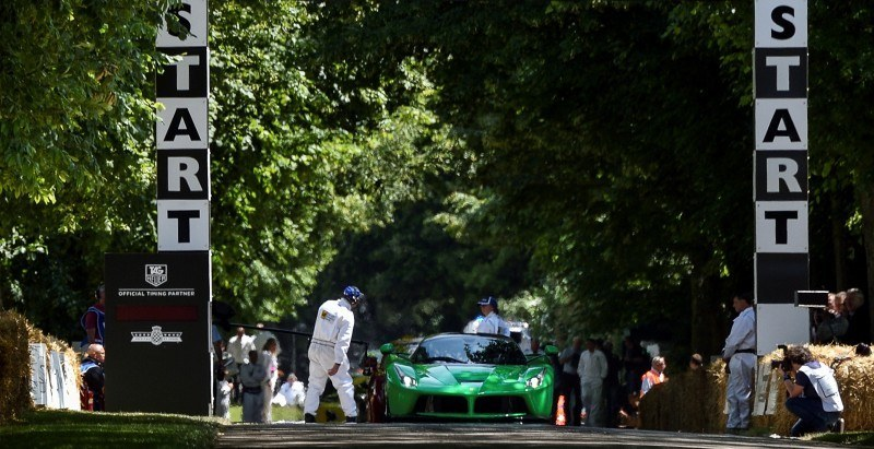 Jay Kay's Green LaFerrari and F12 TRS Spyder Cause Deadly Fanboy Riots at 2014 Goodwood FoS1