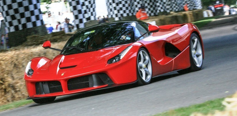 Jay Kay's Green LaFerrari and F12 TRS Spyder Cause Deadly Fanboy Riots at 2014 Goodwood FoS14
