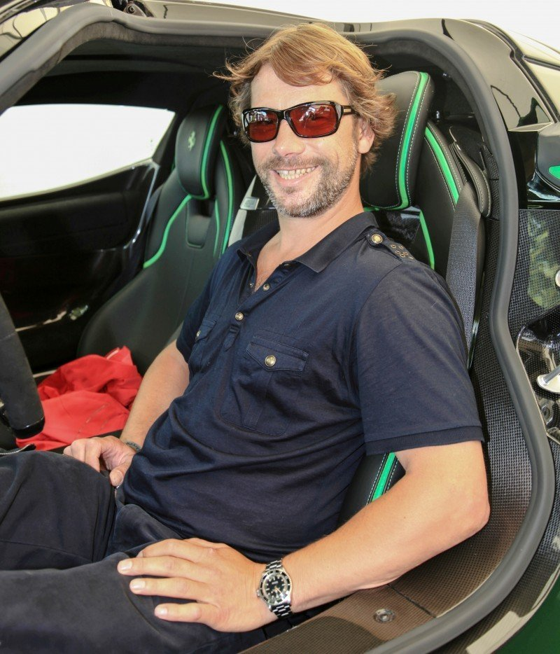 Jay Kay's Green LaFerrari and F12 TRS Spyder Cause Deadly Fanboy Riots at 2014 Goodwood FoS17
