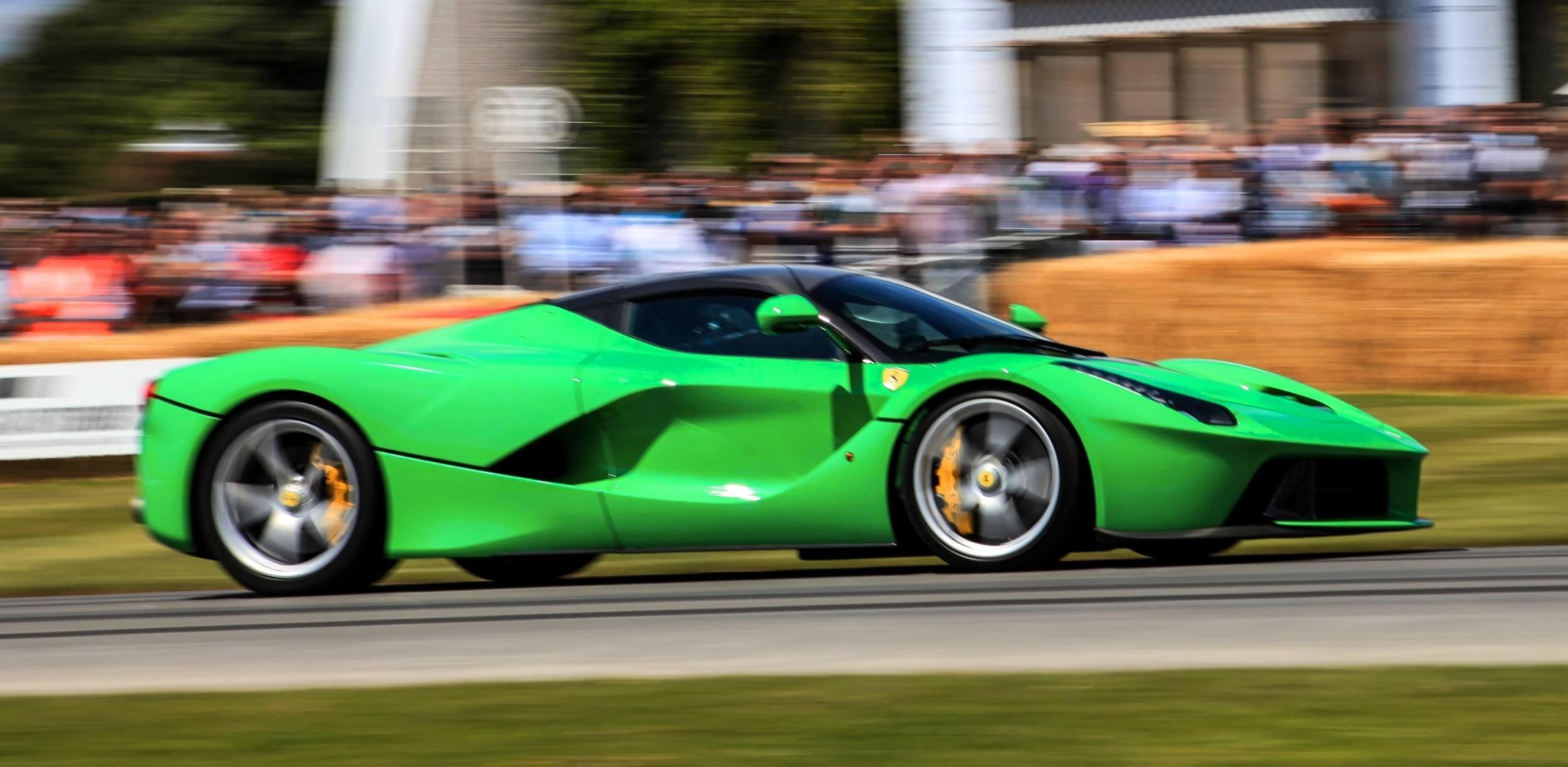 Monster Energy Ferrari Laferrari Front Plastic Car 2014 | El Tony
