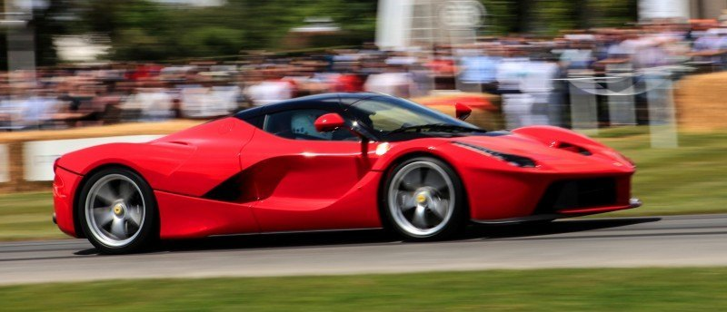 Jay Kay's Green LaFerrari and F12 TRS Spyder Cause Deadly Fanboy Riots at 2014 Goodwood FoS19