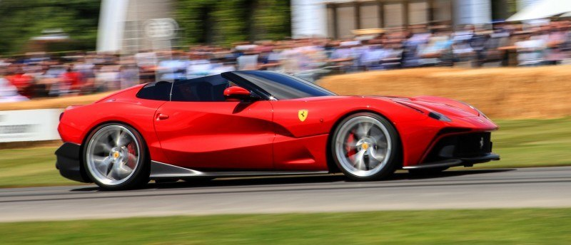 Jay Kay's Green LaFerrari and F12 TRS Spyder Cause Deadly Fanboy Riots at 2014 Goodwood FoS20