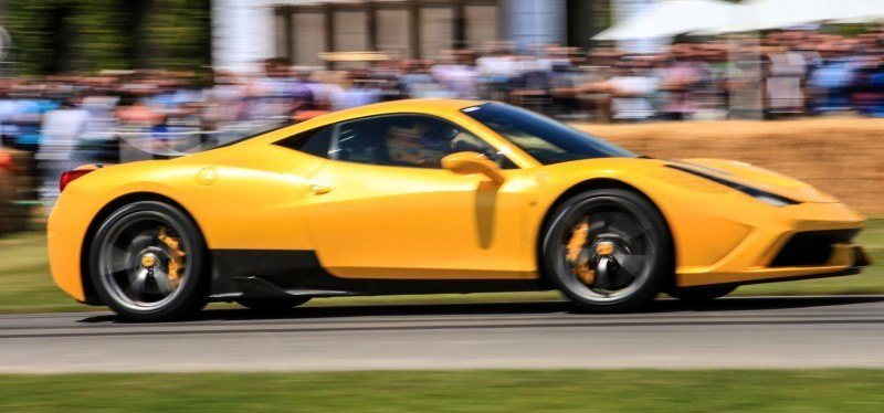 Jay Kay's Green LaFerrari and F12 TRS Spyder Cause Deadly Fanboy Riots at 2014 Goodwood FoS21