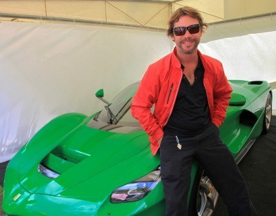 Jay Kay's Green LaFerrari and F12 TRS Spyder Cause Deadly Fanboy Riots at 2014 Goodwood FoS22