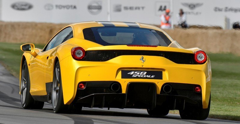 Jay Kay's Green LaFerrari and F12 TRS Spyder Cause Deadly Fanboy Riots at 2014 Goodwood FoS8