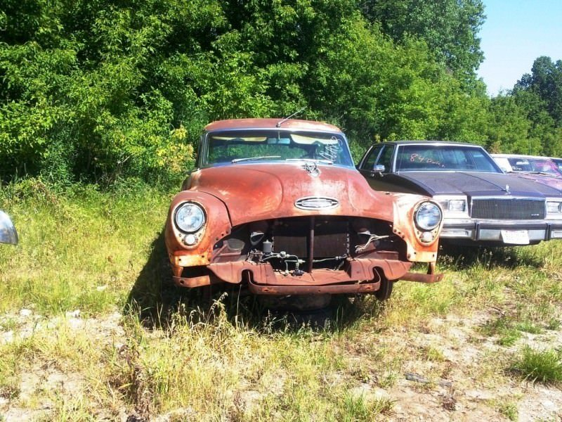 Junkyard Jems - Americana - 1961 Thunderbird, New Yorker, Mustangs and Rusty Tractors 15