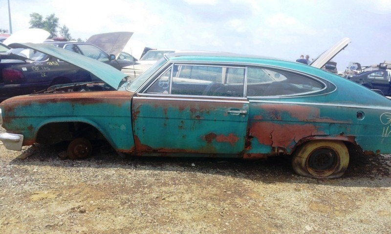 Junkyard Jems - Americana - 1961 Thunderbird, New Yorker, Mustangs and Rusty Tractors 41