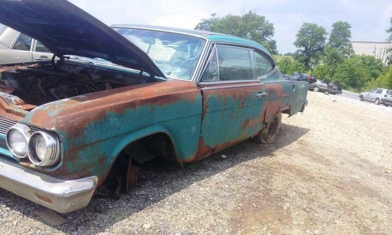Junkyard Jems - Americana - 1961 Thunderbird, New Yorker, Mustangs and Rusty Tractors 42