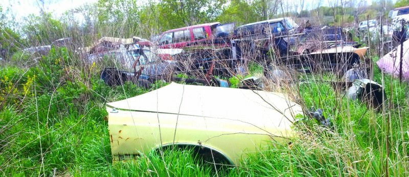Junkyard Jems - Americana - 1961 Thunderbird, New Yorker, Mustangs and Rusty Tractors 9