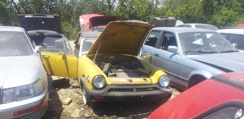 Junkyard Jems - The Europeans - Saab, Opel, Triumph, Mercedes, Fiat, Alfa, MG, BMW... and Lada 168
