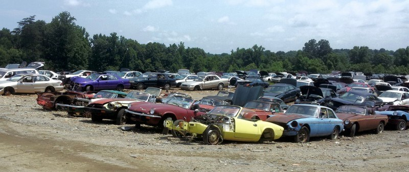 Junkyard Jems - The Europeans - Saab, Opel, Triumph, Mercedes, Fiat, Alfa, MG, BMW... and Lada 181