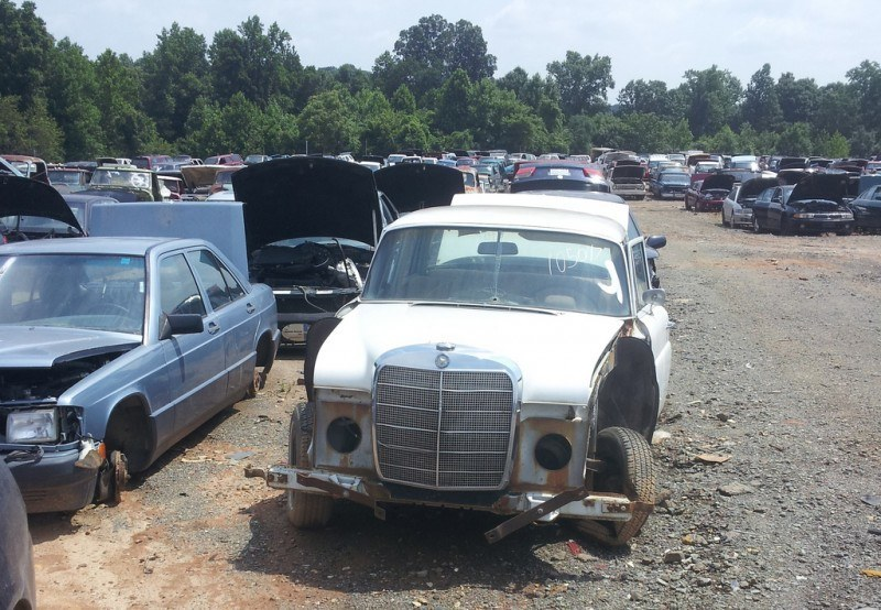 Junkyard Jems - The Europeans - Saab, Opel, Triumph, Mercedes, Fiat, Alfa, MG, BMW... and Lada 189