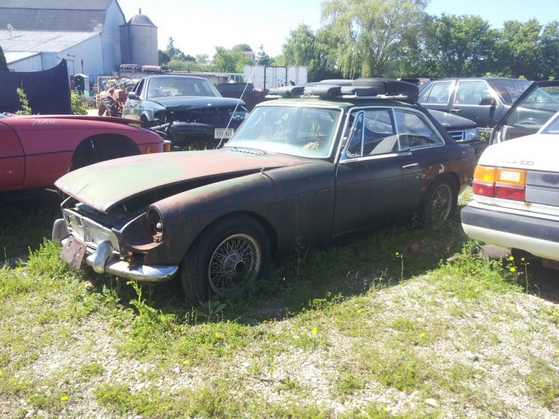 Junkyard Jems - The Europeans - Saab, Opel, Triumph, Mercedes, Fiat, Alfa, MG, BMW... and Lada 23