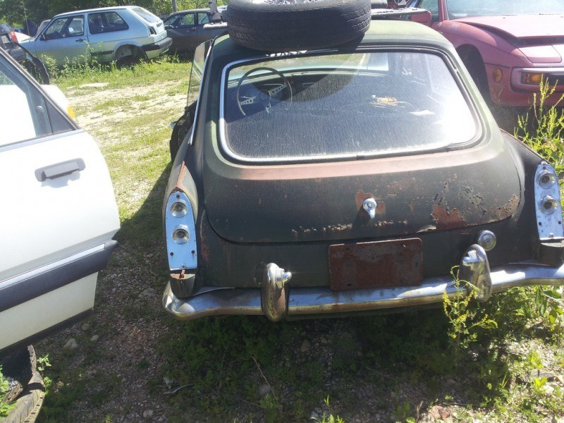 Junkyard Jems - The Europeans - Saab, Opel, Triumph, Mercedes, Fiat, Alfa, MG, BMW... and Lada 28