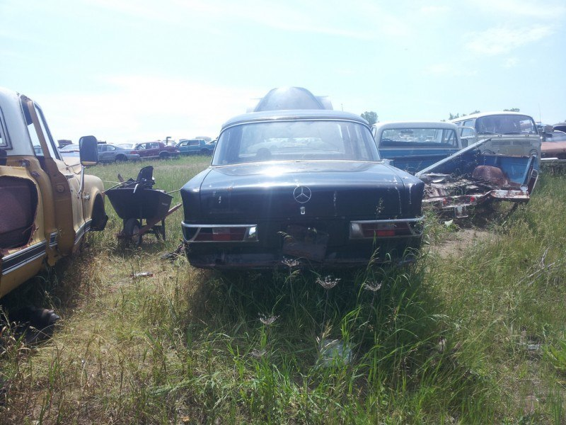 Junkyard Jems - The Europeans - Saab, Opel, Triumph, Mercedes, Fiat, Alfa, MG, BMW... and Lada 50