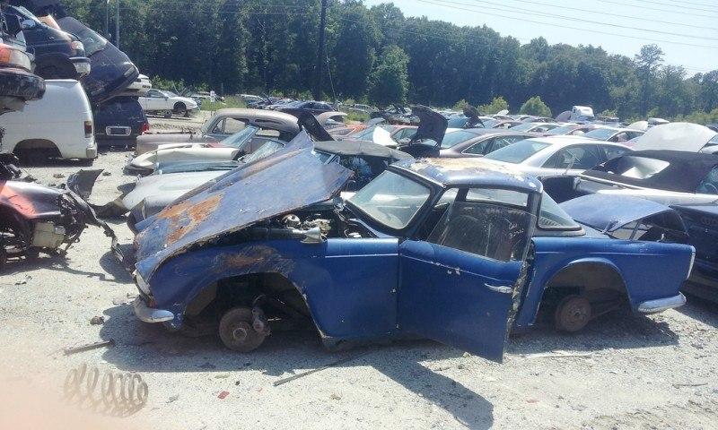 Junkyard Jems - The Europeans - Saab, Opel, Triumph, Mercedes, Fiat, Alfa, MG, BMW... and Lada 67