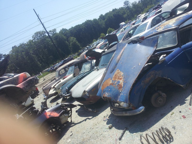 Junkyard Jems - The Europeans - Saab, Opel, Triumph, Mercedes, Fiat, Alfa, MG, BMW... and Lada 68