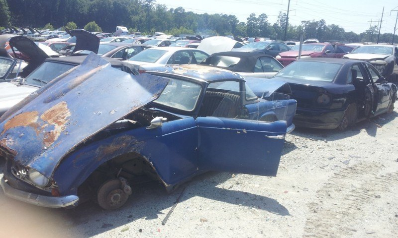 Junkyard Jems - The Europeans - Saab, Opel, Triumph, Mercedes, Fiat, Alfa, MG, BMW... and Lada 69