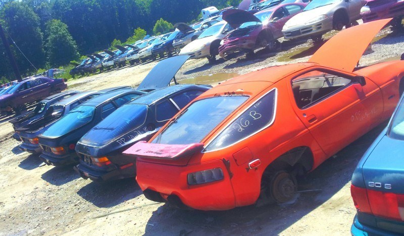 Junkyard Jems - The Europeans - Saab, Opel, Triumph, Mercedes, Fiat, Alfa, MG, BMW... and Lada 72