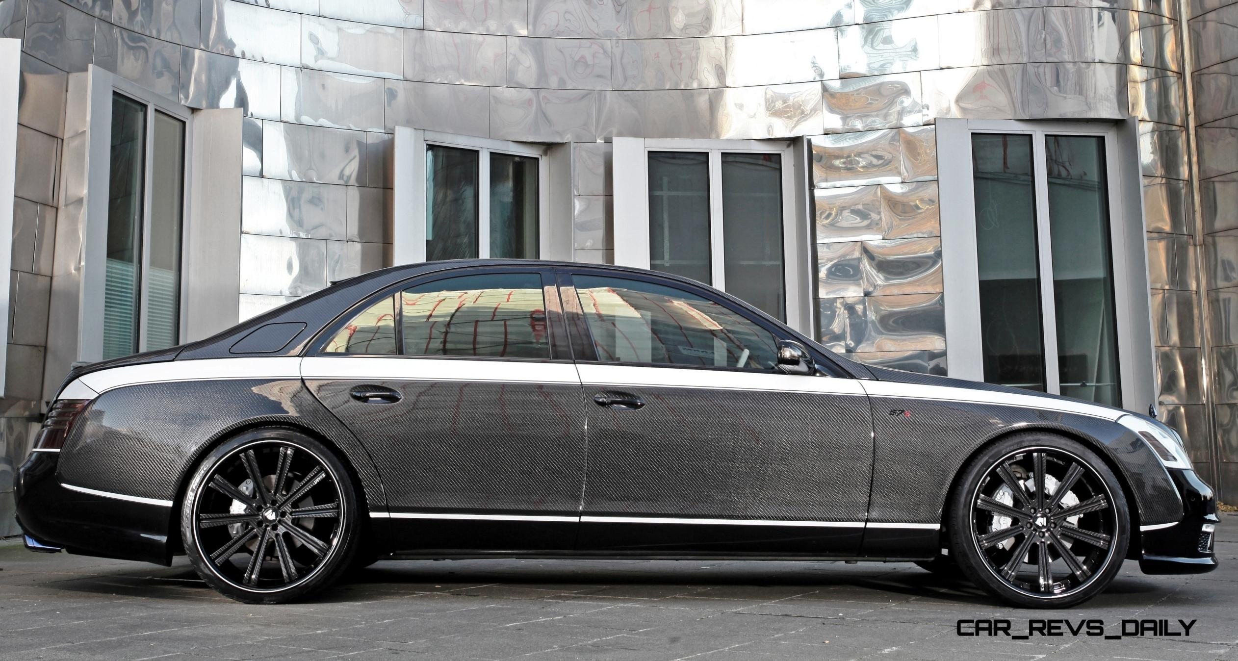 712hp Maybach 57s By Knight Luxury Is Conspicuously