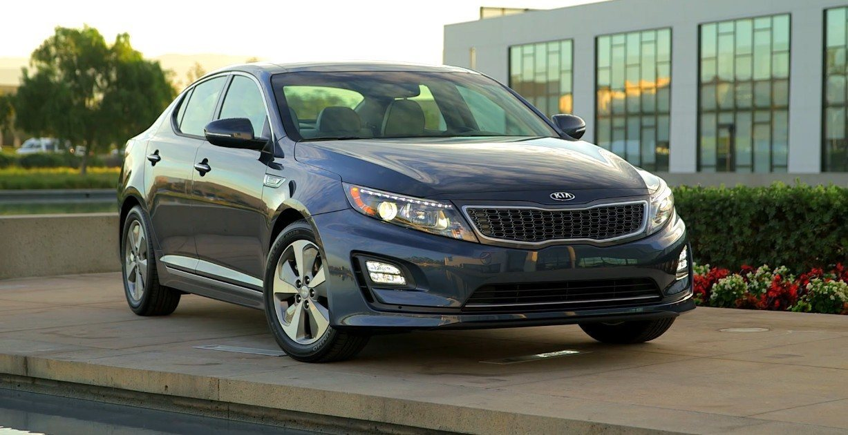 Kia Optima Hybrid Details Photos 6