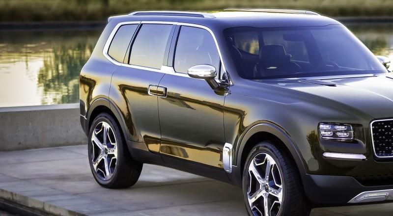 Kia Telluride Concept SUV 4