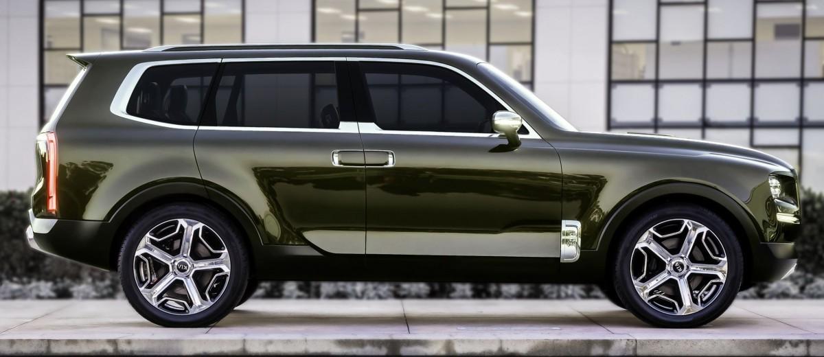 2016 Kia Telluride Concept Lwb Suv Brings 7 Seat Chalet