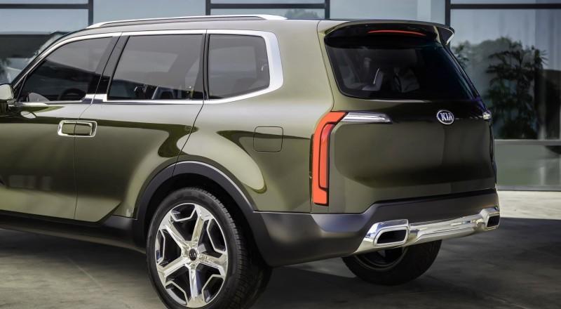 Kia Telluride Concept SUV 7