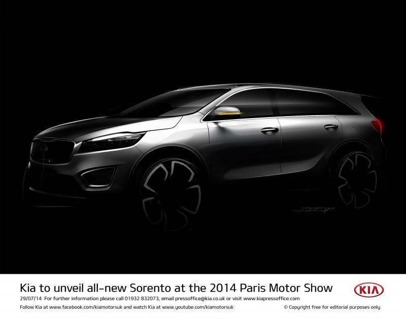 Kia to unveil all-new Sorento at the 2014 Paris Motor Show-57227