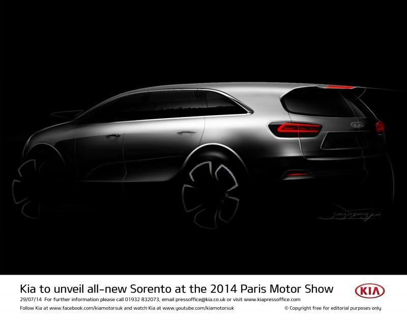 Kia to unveil all-new Sorento at the 2014 Paris Motor Show-57228