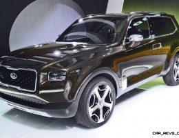 2016 Kia TELLURIDE Concept – LWB SUV Brings 7-Seat Chalet Cachet
