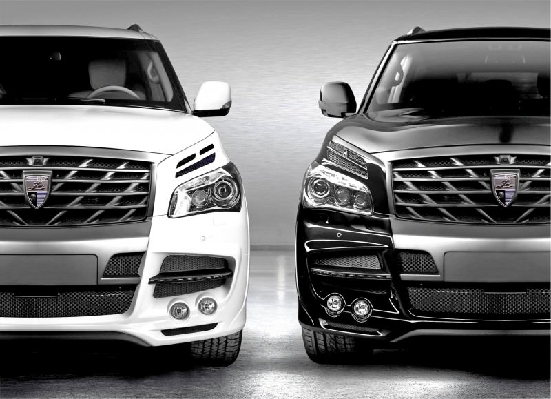 LARTE Design Arrives in California! INFINITI QX80 Customs Are Scary-Cool With 3 Levels of Upgade Kits Offered 10