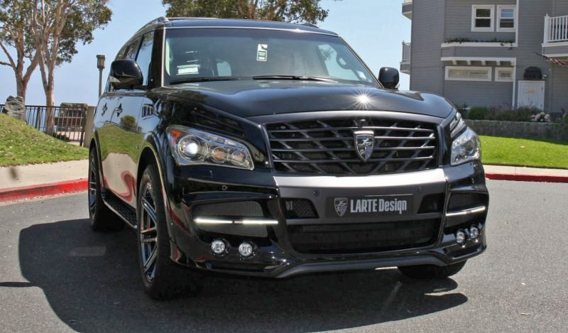 LARTE Design Arrives in California! INFINITI QX80 Customs Are Scary-Cool With 3 Levels of Upgade Kits Offered 3