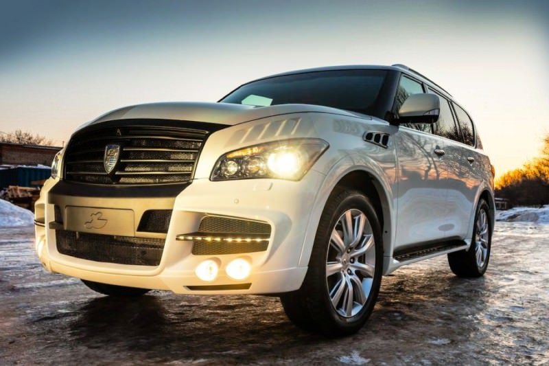 LARTE Design Arrives in California! INFINITI QX80 Customs Are Scary-Cool With 3 Levels of Upgade Kits Offered 33
