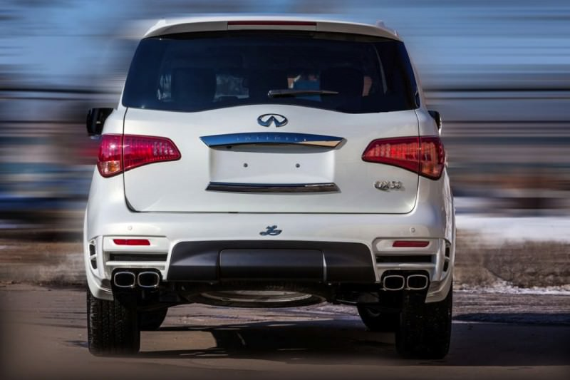 LARTE Design Arrives in California! INFINITI QX80 Customs Are Scary-Cool With 3 Levels of Upgade Kits Offered 34