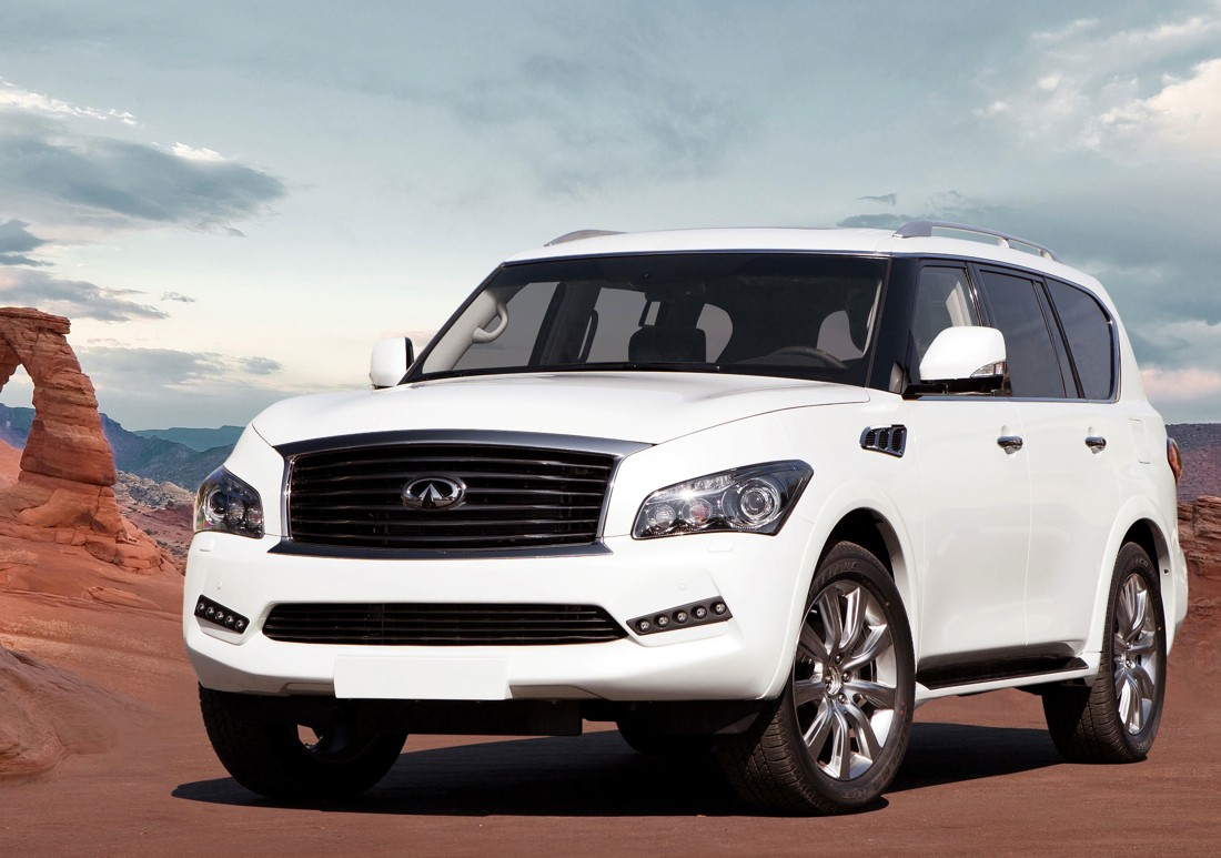 larte design arrives in usa with scary cool infiniti qx80 upgrades. Black Bedroom Furniture Sets. Home Design Ideas