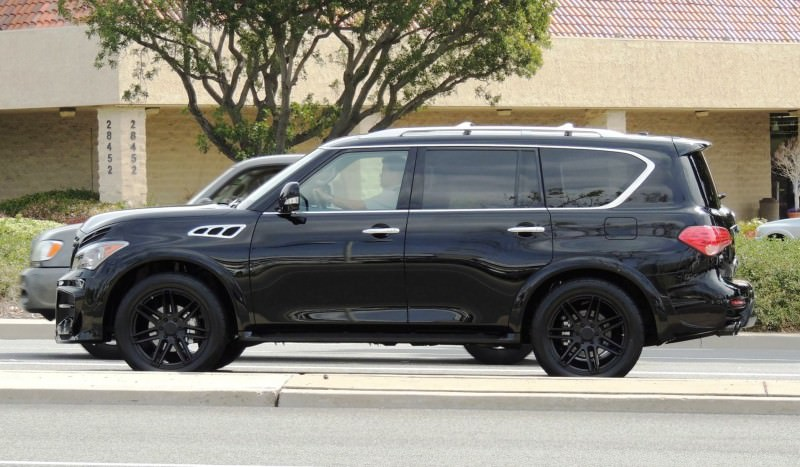 LARTE Design Arrives in California! INFINITI QX80 Customs Are Scary-Cool With 3 Levels of Upgade Kits Offered 44