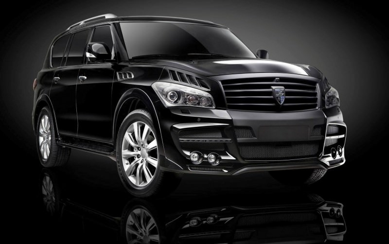 LARTE Design Arrives in California! INFINITI QX80 Customs Are Scary-Cool With 3 Levels of Upgade Kits Offered 5